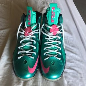 Nike I.d. Lebron 10 south beach
